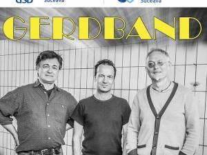 Trupa de jazz Gerdband concertează la Suceava