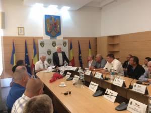 O delegaţie a poliţiştilor moldoveni vizitează Bucovina