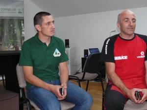 Liviu Huţanu şi Petrică Ariciuc