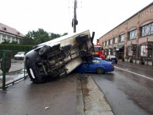Accident Campulung Moldovenesc