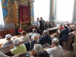 """""""Marşul Vieţii"""", la Sinagoga Gah din Suceava"""
