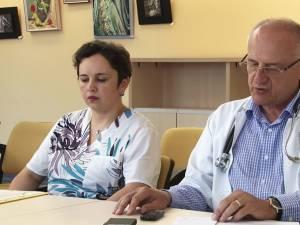 Dr. Agata Petrescu şi dr. Mihai Ardeleanu