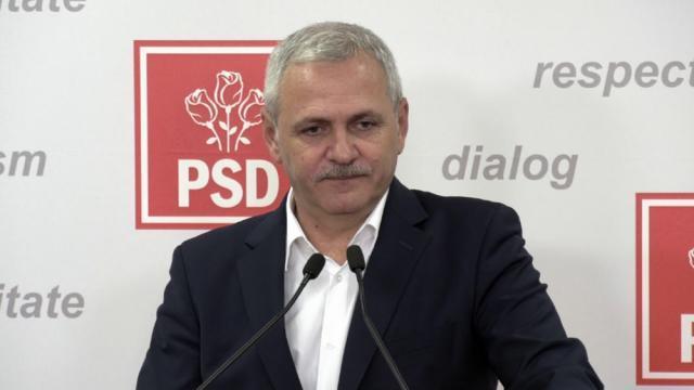 Președintele PSD, Liviu Dragnea
