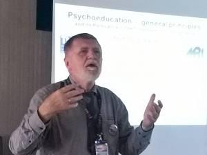 Prof. dr. Josef Bäuml a conferențiat la Câmpulung Moldovenesc despre recuperarea bolnavilor de schizofrenie