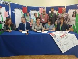 """Delegație de la CSEI """"Sf. Andrei"""" Gura Humorului, în vizită la o unitate de învățământ special din Polonia"""