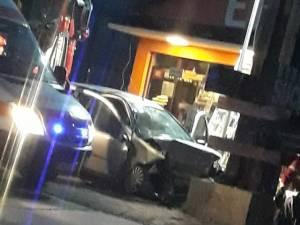Accidentul a avut loc la ieșirea din Suceava spre Moara. Foto: Facebook - Atenţie Poliţia