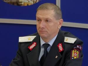 Șeful ISU Suceava, generalul de brigadă Ioan Burlui
