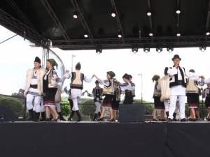 Ziua de duminică a fost dedicată muzicii și dansurilor populare, la Zilele Sucevei