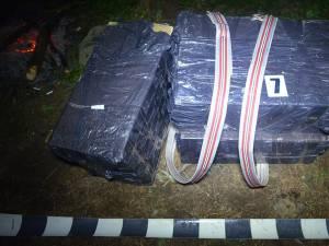 Cele nouă colete conţineau 14.500 de pachete cu ţigări de provenienţă ucraineană, în valoare de 170.000 de lei