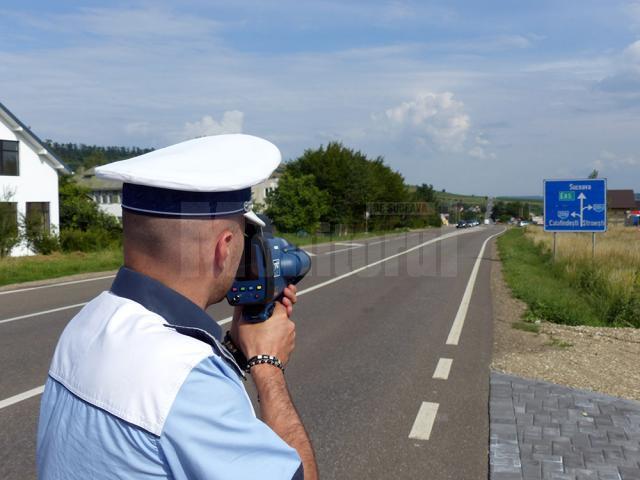 Poliţiştii au în dotare 5 astfel de radare pistol