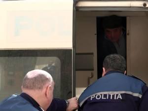 Gheorghe Suciu a fost arestat preventiv imediat după comiterea faptei