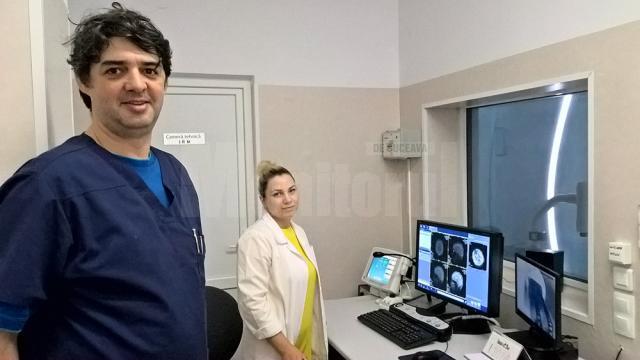 Dr. Adrian Tătăranu, medicul-șef  al Laboratorului de radiologie și imagistică medicală