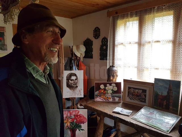 Toader Ignătescu, un artist care încurajează dezvoltarea artelor frumoase, prin organizarea taberelor de creație