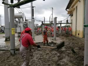 Lucrări de repunere în funcțiune a stațiilor de transformare a energiei electrice