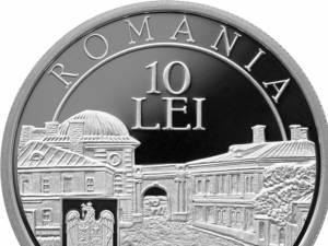 Monedă din argint - avers
