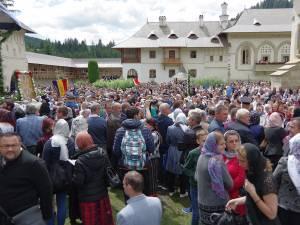 La manifestările de ieri au fost prezenţi oameni din ambele părți ale Prutului