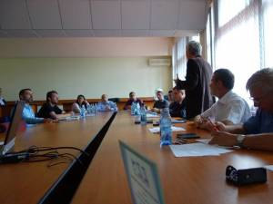 Dezbateri și conferinţe, la Facultatea de Mecanică