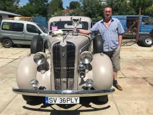 Iulian Todirică și superba sa maşină