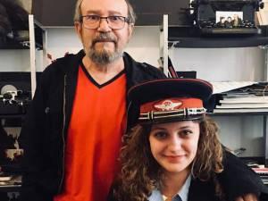 Prof. univ. dr. Feleki Karoly și Ema Motrescu Foto Andrei Budescu