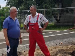 Primarul Ion Lungu a verificat în teren lucrările de reparații și investiții