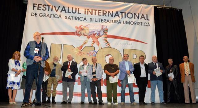 """Festivalul Internaţional de Grafică Satirică şi Literatură Umoristică """"Umor la… Gura Humorului"""", ediţia a XXVIII-a"""