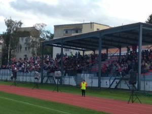 Stadionul Tineretului a fost modernizat în ultimul an pentru a putea găzdui partide de Liga a III-a