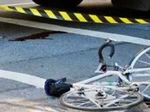 Biciclist accidentat de un şofer care a plecat de la locul faptei - Foto puterea.ro