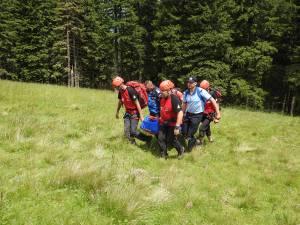 Exercițiul a pus accent pe salvare montane și evacuare aeriană