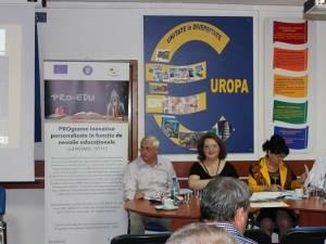 Conferinţa de lansare a proiectului a avut loc joi, 12 iulie