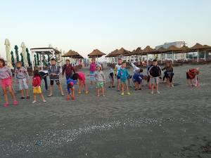 """30 de copii de la Așezământul """"Sf. Ierarh Leontie"""" Rădăuți, în tabără la Năvodari"""