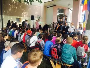 100 de copii de etnie ucraineană din judeţ participă la Şcoala de Vară la Bălcăuți