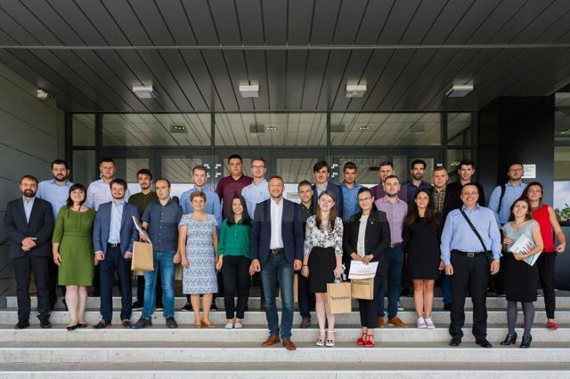 Bursierii Schweighofer și-au prezentat rezultatele cercetărilor științifice din anul universitar 2017-2018