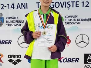 Maria Verciuc a câştigat cele mai multe medalii dintre sportivii din județ, patru de aur şi patru de argint