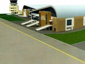 CJ Suceava scoate la licitaţie proiectarea şi execuţia noului terminal al aeroportului