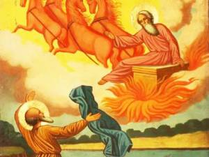 Sfântul Ilie, mânuitorul fulgerelor