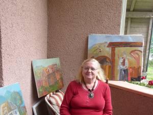 Artistul vizual Lucia Pușcașu