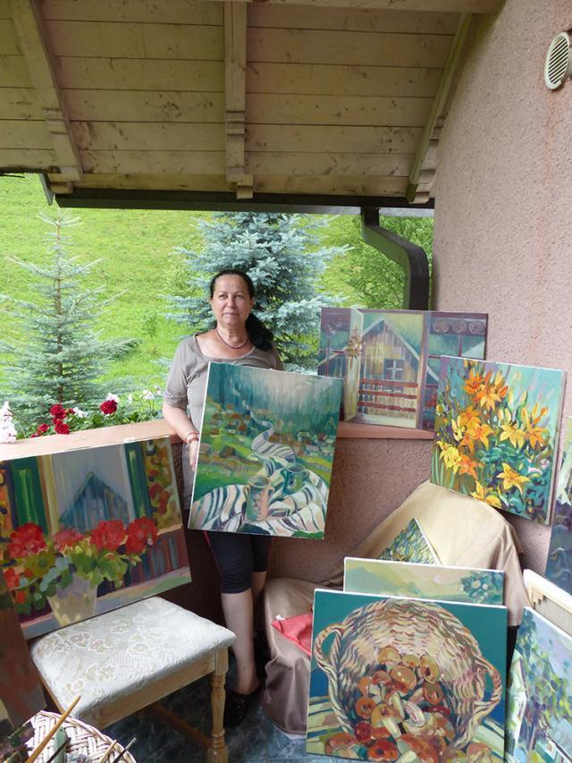 Artistul plastic Pușa Pîslaru – Suceava