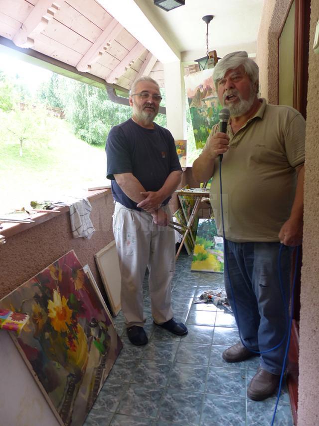 Iurii Guskevici (Cernăuți - Ucraina) și Tudor Botin din Republica Moldova