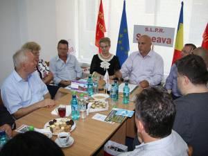 Întâlnirea sindicaliştilor poştali din Suceava și Republica Moldova a fost organizată în scopul unui schimb de experienţă