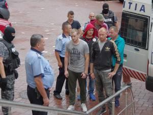 Procurorii DIICOT au solicitat arestarea a nouă dintre inculpaţi