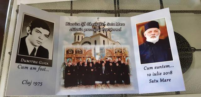 Părintele Dumitru Gliga, condus pe ultimul drum de 50 de preoţi şi diaconi şi sute de credincioşi