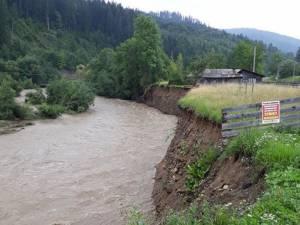 Râul Suceava la Brodina