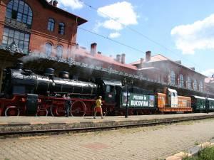 Trenul de epocă a circulat în Bucovina, în urmă cu 7 ani