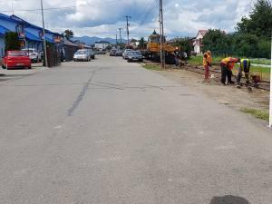 Schimbarea traverselor în zona Bivolărie Foto: Valentin Mandici