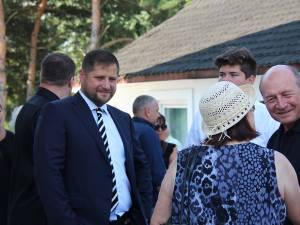 Traian Băsescu a fost alături de ginerele sau, avocatul Radu Pricop, fiul fostului senator de Suceava