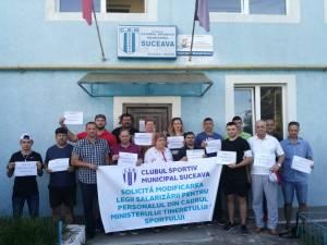 Angajatii de la CSM Suceava au intrat in greva generala