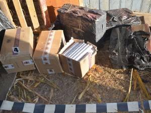 Transport ilegal de ţigări peste graniţă, deturnat de poliţiştii de frontieră suceveni