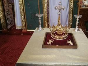 Așa arată Coroana celui mai mare român, domnitorul Ștefan cel Mare şi Sfânt!