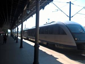 Trenul inaugural Suceava-Putna