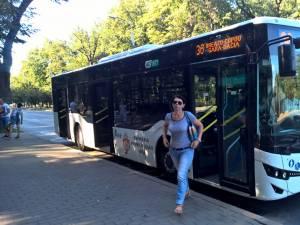 Cușnir arată ca ieșenii beneficiază de un transport public local cu autobuze noi